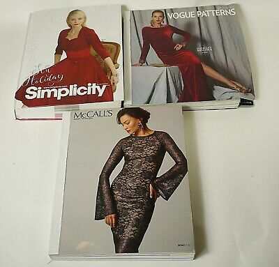 Vogue, McCall's & Simplicity 2016 Winter / Holiday Large Counter Catalogs