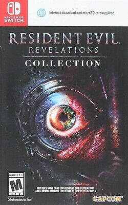 Nintendo Switch - Resident Evil Revelations Collection Brand New Sealed Game