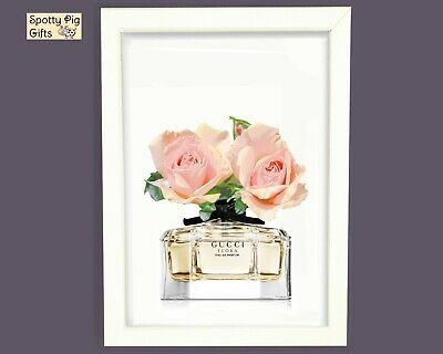 Fashion Prints Wall Art Perfume Framed Unframed Picture Poster Home Decor Lounge
