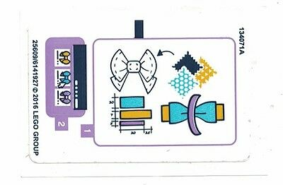 Lego Friends Stickers A6 Size X2