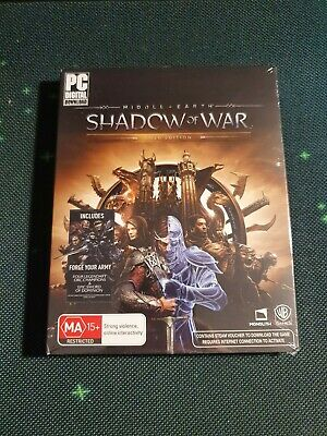 Middle-earth shadow of war gold edition + mithril edition DLC - PC Version