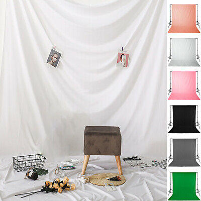 1* Green Screen Studio Photo Video Background Kit Stand Photography Backdrop Set