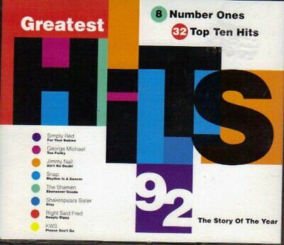Various : Greatest Hits 1992 CD Value Guaranteed from eBay's biggest seller!