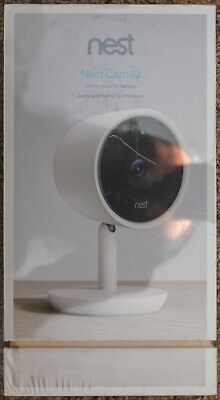 **NEW + FREE SHIP** Nest Cam IQ Wi-Fi Indoor 1080P 4K IP Camera White