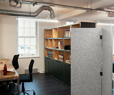 Portable Free Standing Acoustic Screen (room divider) for Office & Classroom