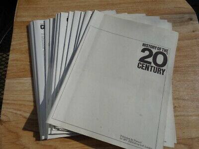 Purnell's History Of The 20th Century magazine Issues 65 to 79 (Covers Removed)