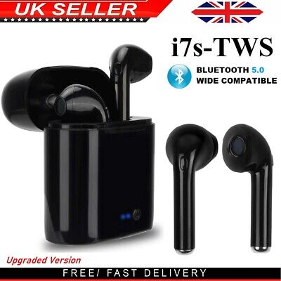 i7s TWS Wireless Earphones Bluetooth 5.0 Stereo Earbuds Sport Headphones for Any