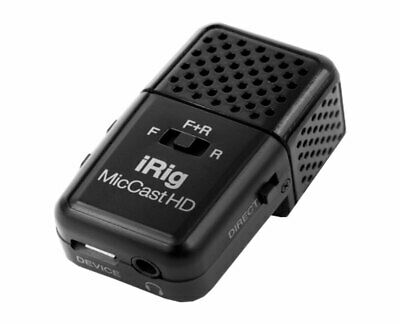IK Multimedia iRig Mic Cast HD podcasting mic for iPhone/iPad and Mac/PC