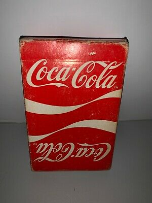 Vintage 1984 Coca-Cola Playing Cards