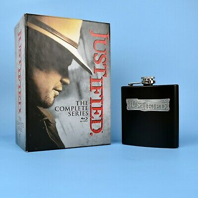 Justified - The Complete Series Blu-Ray - Season 1 2 3 4 5 6 Flask - GUARANTEED