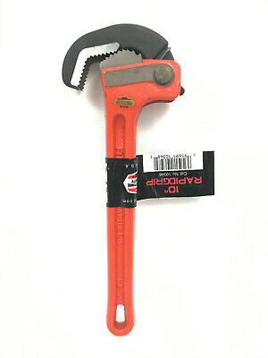 "BRNAD NEW RIDGID Rapid Grip 10"" 1-1/2"" Capacity Pipe Wrench RapidGrip 10348"