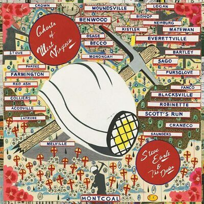Steve Earle And The Dukes - Ghosts of West Virginia [CD] Sent Sameday*
