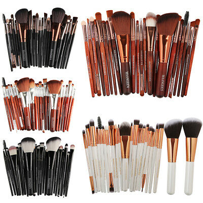22PCS Kabuki Make up Brushes Set Makeup Foundation Blusher Face Powder Brush UK