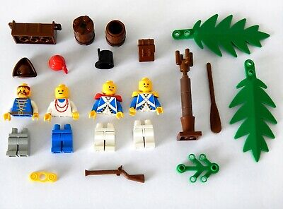 Lego Job Lot of Vintage Pirate Minifigs Mini Figures & Spares