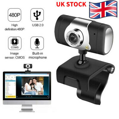 1080P Full HD Web Camera USB Webcam with Microphone Conference Laptop Desktop PC