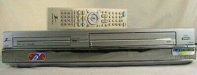 Spectacular Bundle Zenith XBR413 DVD VHS Combo Player Recorder W/ Remote & Cords