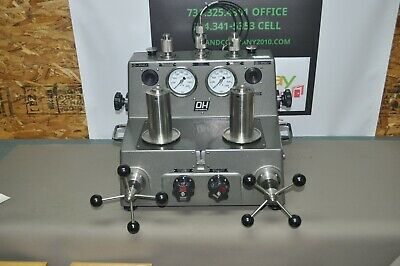 Dh Instruments Fluke Model 5501 Differential Pressure Dead Weight Tester Mint