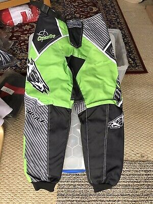 NEW CUB WULFSPORT JEANS MOTOCROSS QUAD SIZE 26in WAIST GREEN