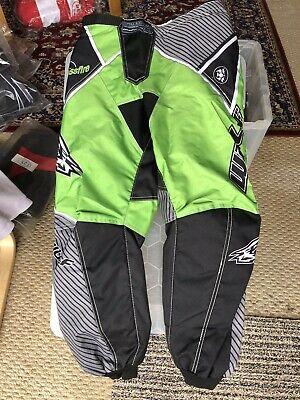 NEW CUB WULFSPORT JEANS MOTOCROSS QUAD SIZE 28in WAIST GREEN