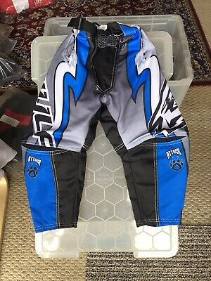 NEW CUB WULFSPORT JEANS MOTOCROSS QUAD SIZE 20in WAIST BLUE