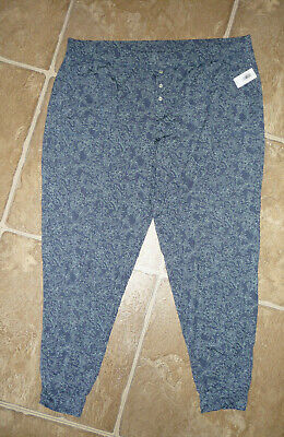 GAP NWT Women's LOVE By Gap  Modal Blend Jogger Style Pajama Lounge Pants