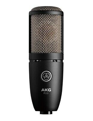 AKG P220 Project Studio Line Condenser Microphone Shipping from Japan F/S