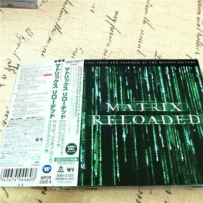 Various ‎– The Matrix Reloaded: The Album  JAPAN CD OBI E98-45