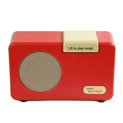 Simple Music Player Retro Red