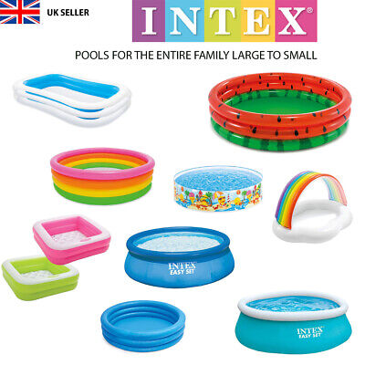 Paddling Pool Swimming Inflateable Baby Toddler Kids Family Intex Quality New