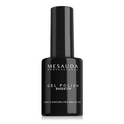 Mesauda Milano Gel Polish Base&Top 14ml Smalto Semipermanente