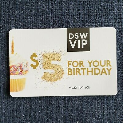 DSW Vip Coupon Shoes $5 Off Deal Savings Promo Code 5/2020 Offer Barcode Save 5