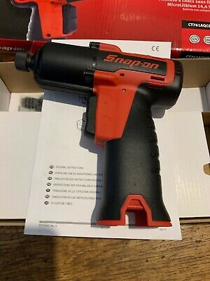 """SNAP ON,14.4 V 1/4"""" Hex Drive MicroLithium Quick Change Cordless Impact Driver"""