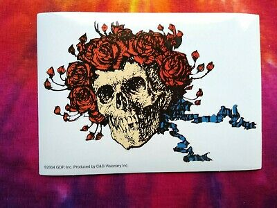 Grateful Dead Bertha Skull 3.5 x 5 Inch Sticker