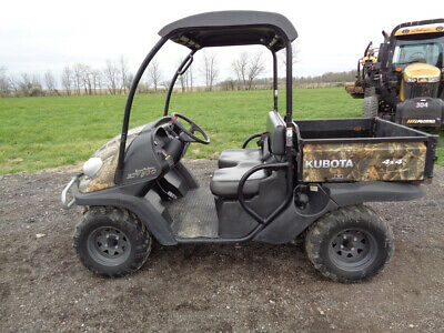 2018 Kubota RTV500, 4WD, Power Steering, Camo, Manual Dump, 521 Hours