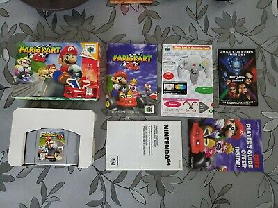 N64 Mario Kart 64 1997 CIB COMPLETE ORIGINAL OWNER 1st Edition FREE SHIPPING