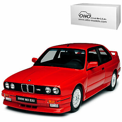 BMW 3er E30 M3 Coupe Rot 1982-1994 Nr 695 1/18 Otto Mobile Modell Auto mit oder