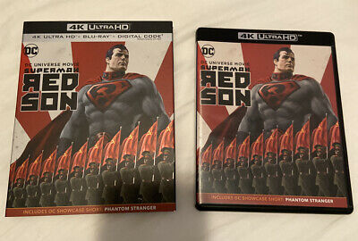 Superman: Red Son Unused 4k Blu Ray + Case Only
