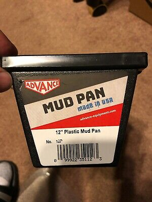"""12"""" Advance Plastic Dry Wall Mud Pan with Steel Edge               FAST SHIPPING"""