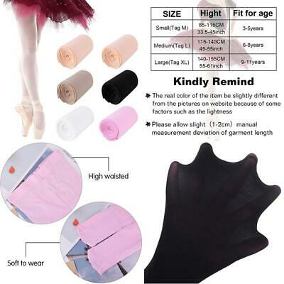 Fepito 6 Pairs Girls Basic Convertible Transition Ballet Dance Tights For Girls
