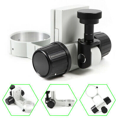 Microscope Arm Two-way Coarse Focusing Adjustment Mount E Head Holder Ring 76 mm