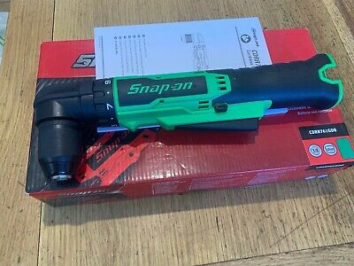 """SNAP ON,14.4 V 3/8"""" MicroLithium Cordless Right Angle Screw Gun/ Drill BODY ONLY"""