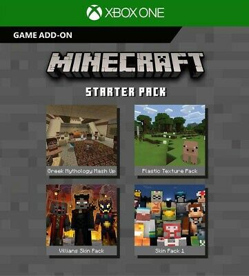 MINECRAFT XBOX ONE Starter Pack DLC [INSTANT DELIVERY 24/7]