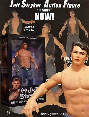 "StrykerSpecial.12"" Jeff Stryker Action Figure ""Signed"", NIB Buy from Jeff direct"