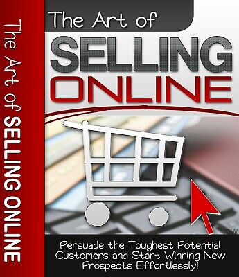 The Art Of Selling Online - PDF Ebook with master resell rights FAST SHIPPING