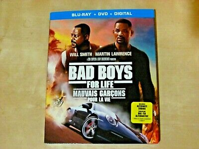 BAD BOYS FOR LIFE (Blu-ray, DVD, Incl. Digital Copy *NEW)