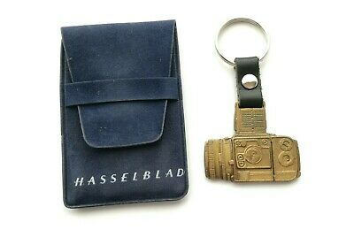 Hasselblad 203FE Key Ring fob chain leather and metal rare collectable