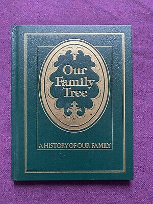 Our Family Tree: A History of Our Family Book 1977 Blank