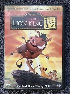Lion King 1 1/2 DVD (Disney, 2004)