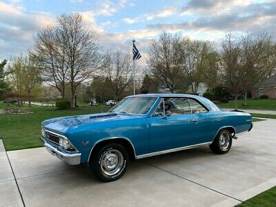 1966 Chevrolet Chevelle SS 1966 Chevy Chevelle SS * True SS 396 / 4 Speed / Posi  Marina Blue * Stunning!