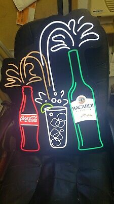 Bacardi  Coke Sign